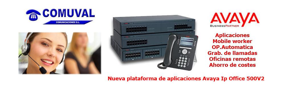 Centralitas telefonicas Avaya