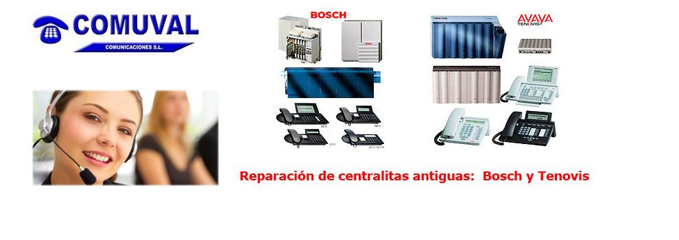 Mantenimiento de centralitas. Reparación de centralitas