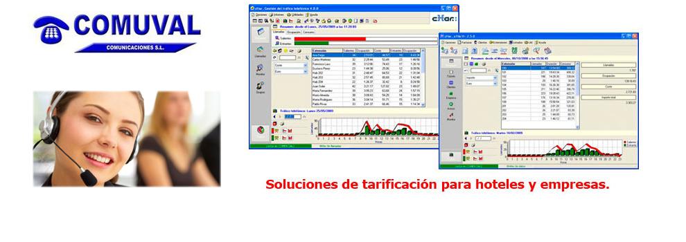 Tarificación de centralitas telefonicas en Valencia