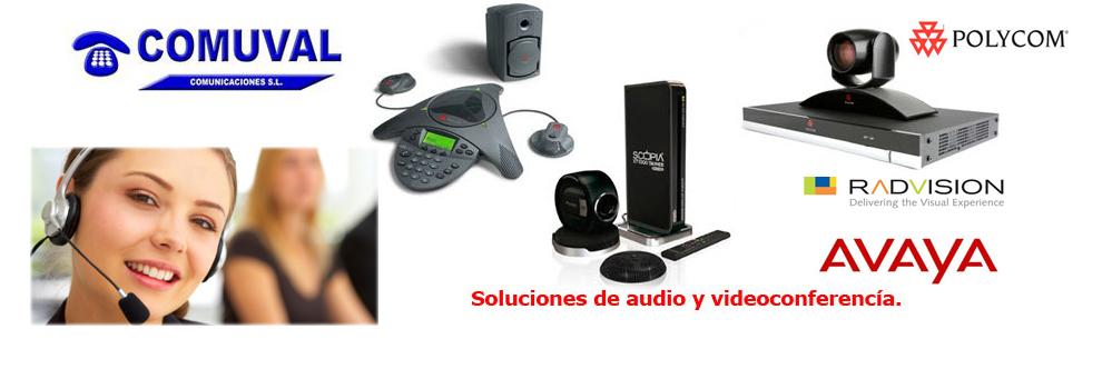 Equipos de Videoconferencia Valencia, Radvision, Avaya, Polycom