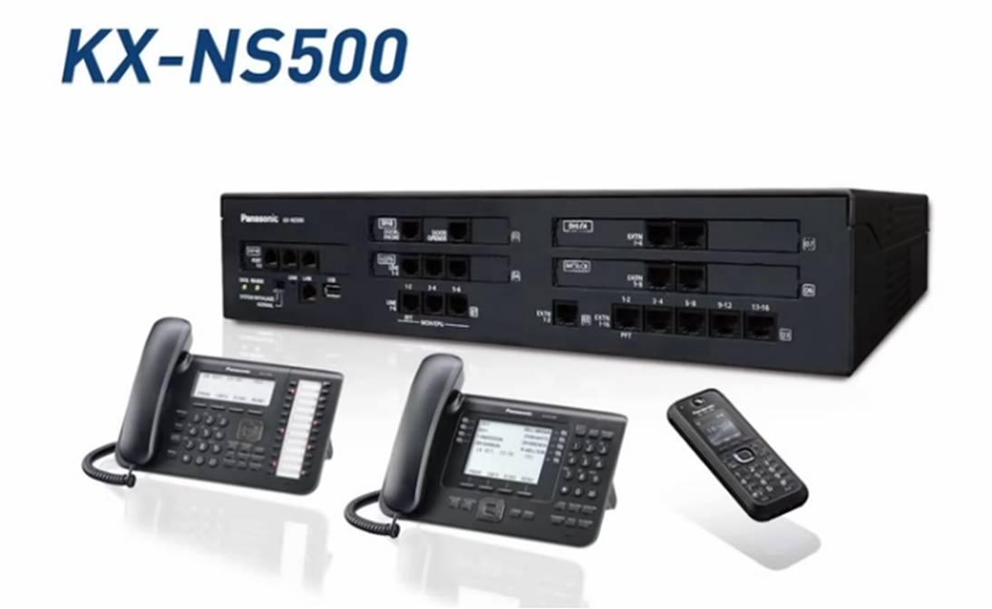 reprogramación de centralitas teléfonicas panasonic ns500