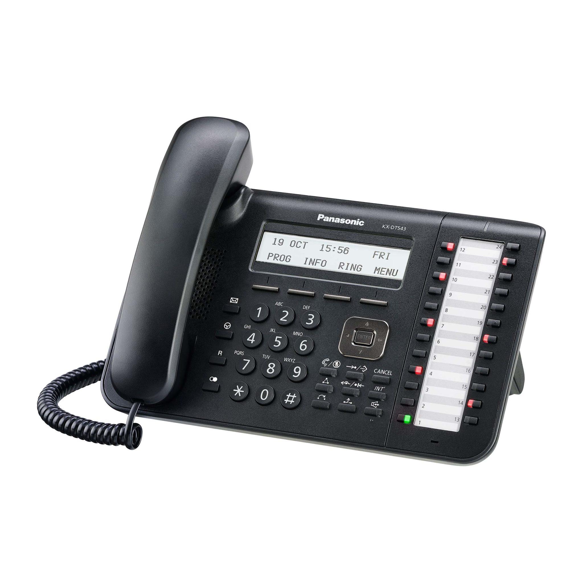 telefono panasonic kx-dt543 centralita panasonic ns500-ns700