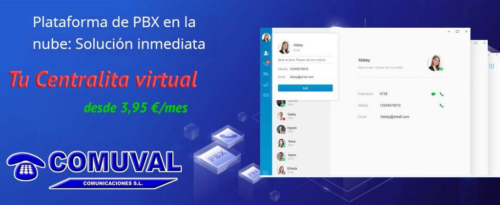 Centralita virtual en Valencia y Castellón